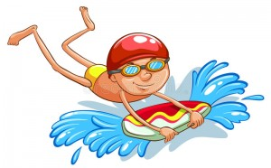 young-boy-swimming-drawing-white-background-48963600